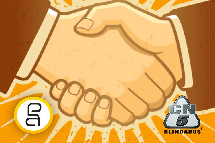A Publiciart é a nova agência da CN5 Blindados.